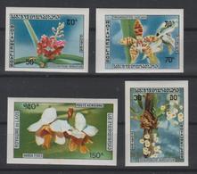 LAOS  1971  NON DENT / IMPERF  FLOWERS  ORCHIDS  **MNH  Réf 233   Orchidée - Laos