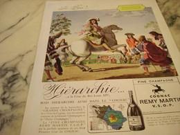 ANCIENNE PUBLICITE LE ROI  COGNAC REMY MARTIN 1946 - Alcohols