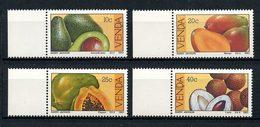 VENDA 1983  N° 82/85 ** Neufs MNH Superbes C 2,50 € Fruits Subtropicaux Persea Mangue Papaya Litchi Flore - Venda