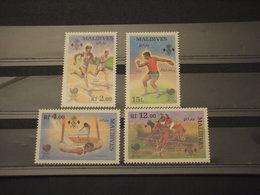 MALDIVES - 1988 SPORT 4 VALORI - NUOVI(++) - Maldive (1965-...)