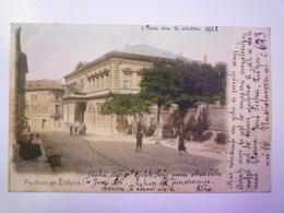 TCHEQUIE  :  POZDRAV Ze ZIZKOVA !   Carte Couleur   1902  X - Czech Republic