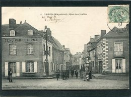 CPA - CRAON - La Rue Des Halles, Animé - Craon