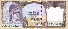 Nepal P.43b 500 Rupees 2001  Unc - Népal