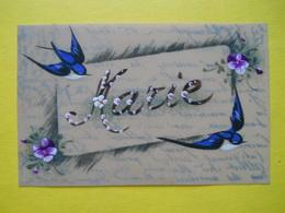Marie ,carte Celluloid - Porcelaine
