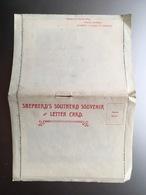 Shepherd's SOUTHEND Souvenir And Letter Card W. 12 Photos 1920'ies? - Southend, Westcliff & Leigh