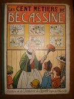 LES CENT METIERS DE BECASSINE 1921 - Bécassine