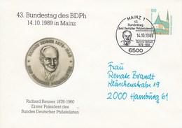 PU 290/30  43.Bundestag Des BDPh 1989 In Mainz - Richard Rennen 1876-1960, Mainz 1 - BRD