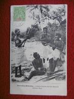 NOUVELLES HEBRIDES ILES SALOMON JEUNES GARCONS TIMBRE TAXE CACHET NOUMEA - New Caledonia