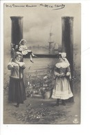 21258 - Femmes Et Enfant Carte Avec Lettre H Vers 1905 - Femmes
