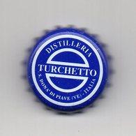 Tappo A Corona Distilleria TURCHETTO - Colore Azzurro - (MW1962) - Altri