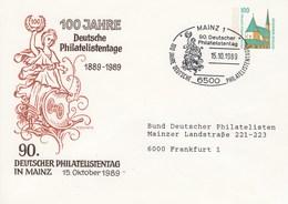 PU 290/32 100 Jahre Deustsche Philtelisten Tage 1889-1989, Mainz 1 - BRD
