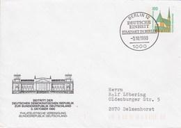 PU 290/51 Beitritt Der DDR Zur BRD 3.Okt.1990, Berlin 12 - Philatelistische Vereinigung BRD, Berlin 12 - BRD