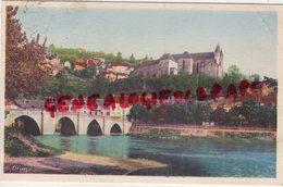 24- TERRASSON - PANORAMA SUR L' EGLISE - Autres Communes