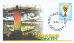 Brazil Cover 2014 FIFA World Cup Soccer Football Brazil (G94-42) - Fußball-Weltmeisterschaft