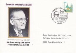 PU 290/53  Sammeln Verbindet Und Bildet - 44. Bundestag Des BDPh Friedrichshafen 6.10.90, Friedrichshafen 1 - BRD
