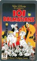 Télécartes - UNITEL  - 101 DALMATIENS - Disney