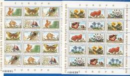 Rumänien; 1983; Mi. 3982/91**, Flora Und Fauna; 2xBlock 040695 Und 040638 - 1948-.... Republics