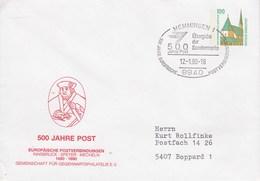 PU 290/55  500 Jahree Post - Europäische Postverbindungen 1490-1990, Memmingen - BRD