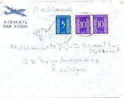 INDONESIE AUTONOME. N°348 & 350 De 1948 Sur Enveloppe Ayant Circulé. - Niederländisch-Indien