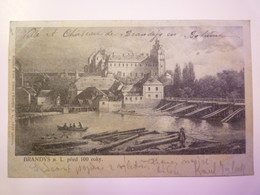 TCHEQUIE  :   BRANDYS N. L. Pred 100 Roky   1901  X - Czech Republic
