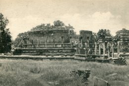 SRI LANKA (Ceylon) Wata-Da-Ge Circular Relic Shrine - Polonnaruwa - Sri Lanka (Ceylon)