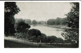 CPA - Cartes Postales -Royaume Uni - London- The Serpentine Hyde Park S4606 - Other