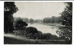 CPA - Cartes Postales -Royaume Uni - London- The Serpentine Hyde Park S4606 - London