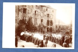 Carte Photo  - Messe En Plein Air --endroit éxact à Identifier - War 1914-18