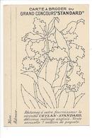 21265- Carte à Broder Grand Concours Standard Publicité Ceylan - Brodées