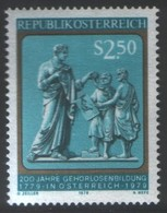 Austria, 1979, Deaf People Education, Set, MNH, Mi# 1606 - 1945-.... 2nd Republic