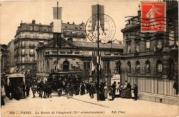 CPA PARIS 15e La Mairie De Vaugirard. ND Phot. (573724) - Arrondissement: 15