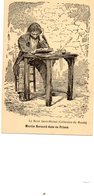 Mont St Michel....MARTIN  BERNARD  DANS SA PRISON - Le Mont Saint Michel