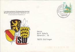 PU 290 B1/8 Landesverband Südwestdetscher Briefmarkensammler-Vereine E.V., Ubstadt - Weiherr - BRD