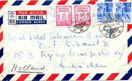 INDONESIE. Belle Enveloppe Ayant Circulé En 1951. - Indonesia