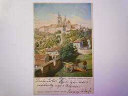 TCHEQUIE  :   PRAHA  Hradcany  (strana Vychodny)   1902  X - Czech Republic