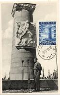 ENTRY OF THE BRITISH TROOPS CARTE  MEMORIAL BELGO BRITANNIQUE GUERRE RARE - Belgium