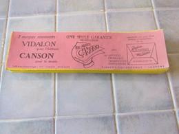 Buvards Vidalon Canson 28 X 7,5 Cm - Vloeipapier