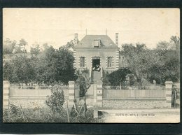 CPA - BUEIL - Une Villa, Animé - Andere Gemeenten