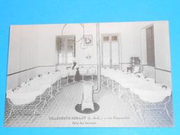 """47 ) Villeneuve-sur-lot - La Pouponnière  """" Salle Des Bercaux """"  : Année : EDIT - Astruc - Villeneuve Sur Lot"""