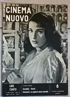 CINEMA NUOVO 1953 - Riviste