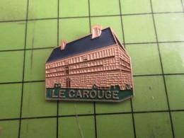 1518A Pins Pin's / Rare & Belle Qualité THEME ALIMENTATION / HOTEL RESTAURANT (CC Gégé) LE CAROUGE - Food