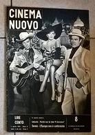 CINEMA NUOVO 1953 N°8 - Magazines