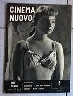 CINEMA NUOVO 1953 N°5 - Magazines