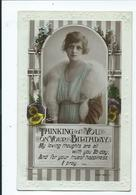 Birthday Postcard Rotary Rp B210.2 Posted 1919 Embossed Edge - Compleanni