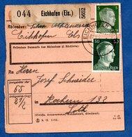 Colis Postal -  Départ Eichhofen  --pour Cocheren    7/1/1943 - Allemagne