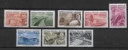 ALBANIE - 1953 - YVERT N° 454/461 ** / MNH - COTE = 40 EUR. - Albanie