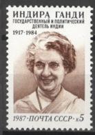 Sowjetunion 5771 ** Postfrisch Gandhi - 1923-1991 UdSSR