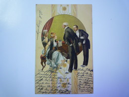 AUTRICHE  :  Carte Fantaisie Au Départ De WIEN   1900   - Austria