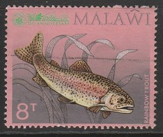 Malawi 1974 35th Anniversary Of Malawi Angling Society 8 T Multicoloured SW 213 O Used - Malawi (1964-...)