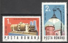 Rumänien 4115/16 ** Postfrisch - 1948-.... Republics